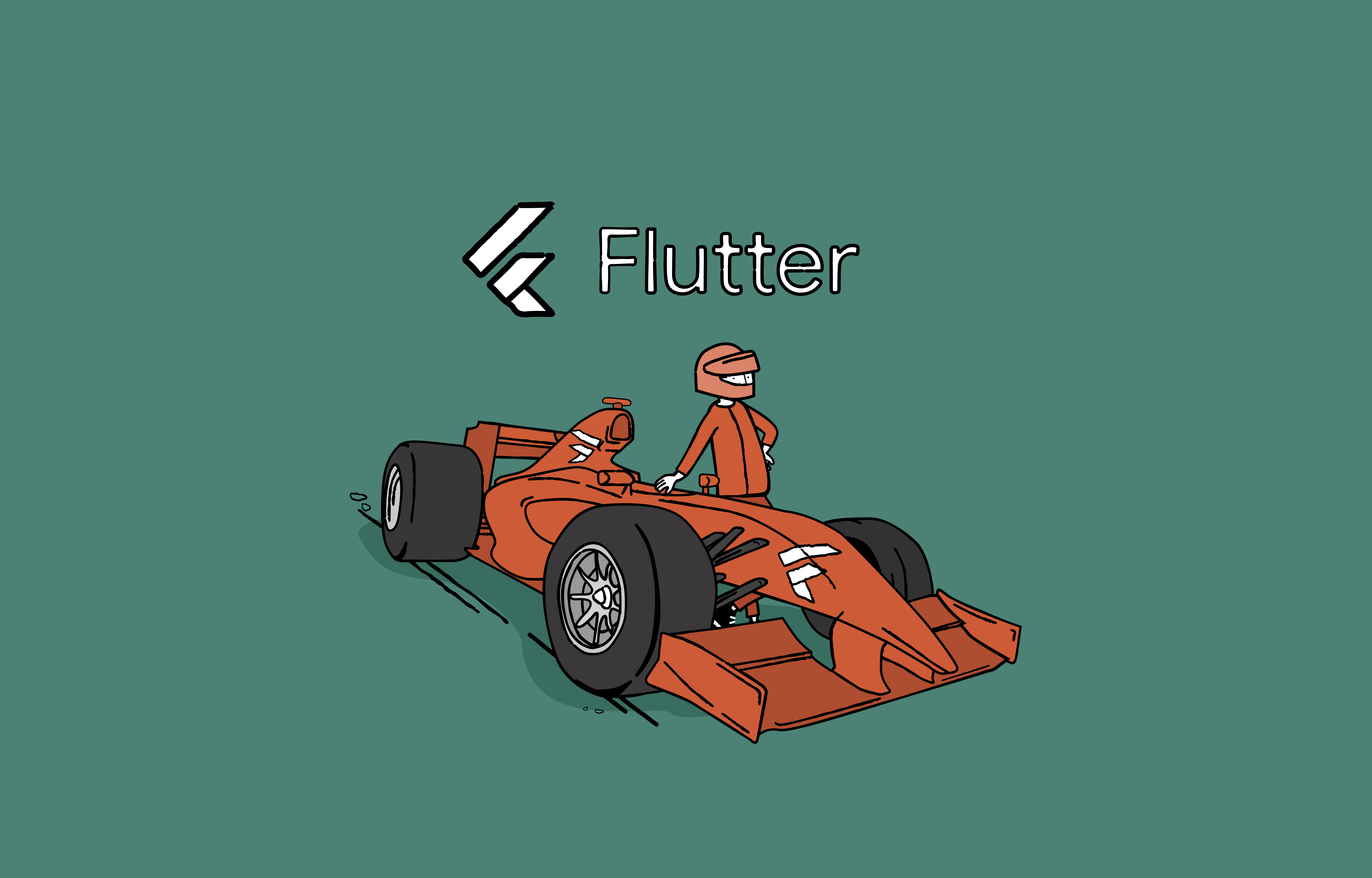 Flutter is like the best F1 car on the market.