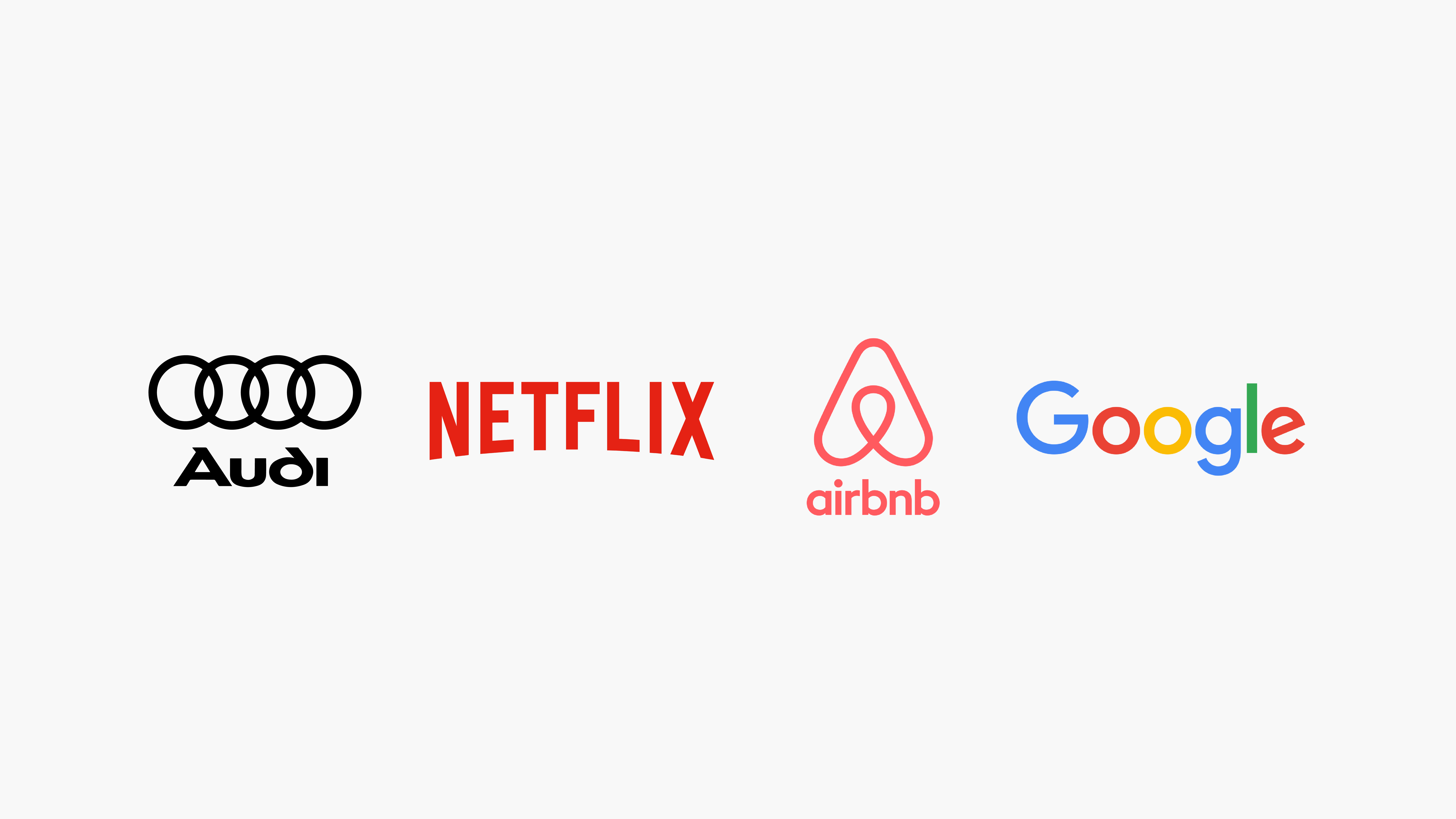 Audi, Netflix, Airbnb and Google are examples of companies that use design systems.