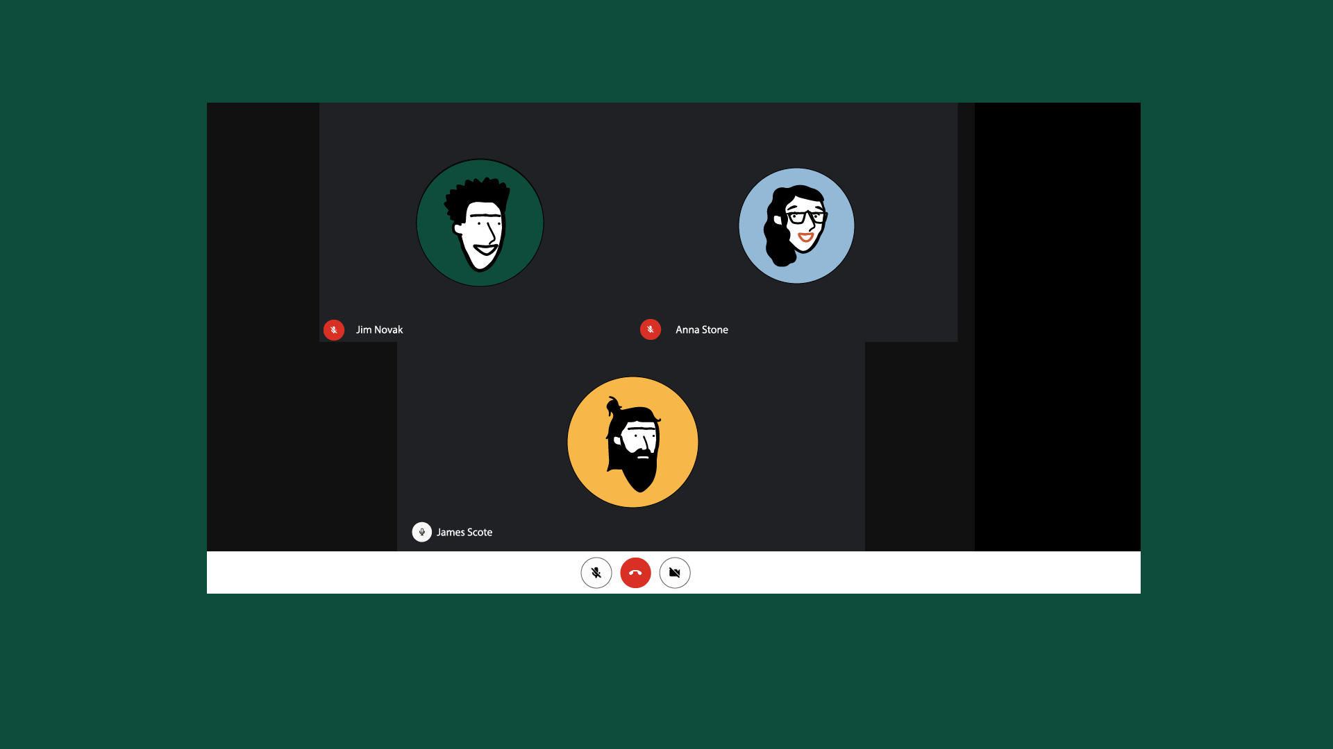 Google Hangouts (part of GSuite) is a web software, that provides video calls. Often a key work tool for project management purposes.