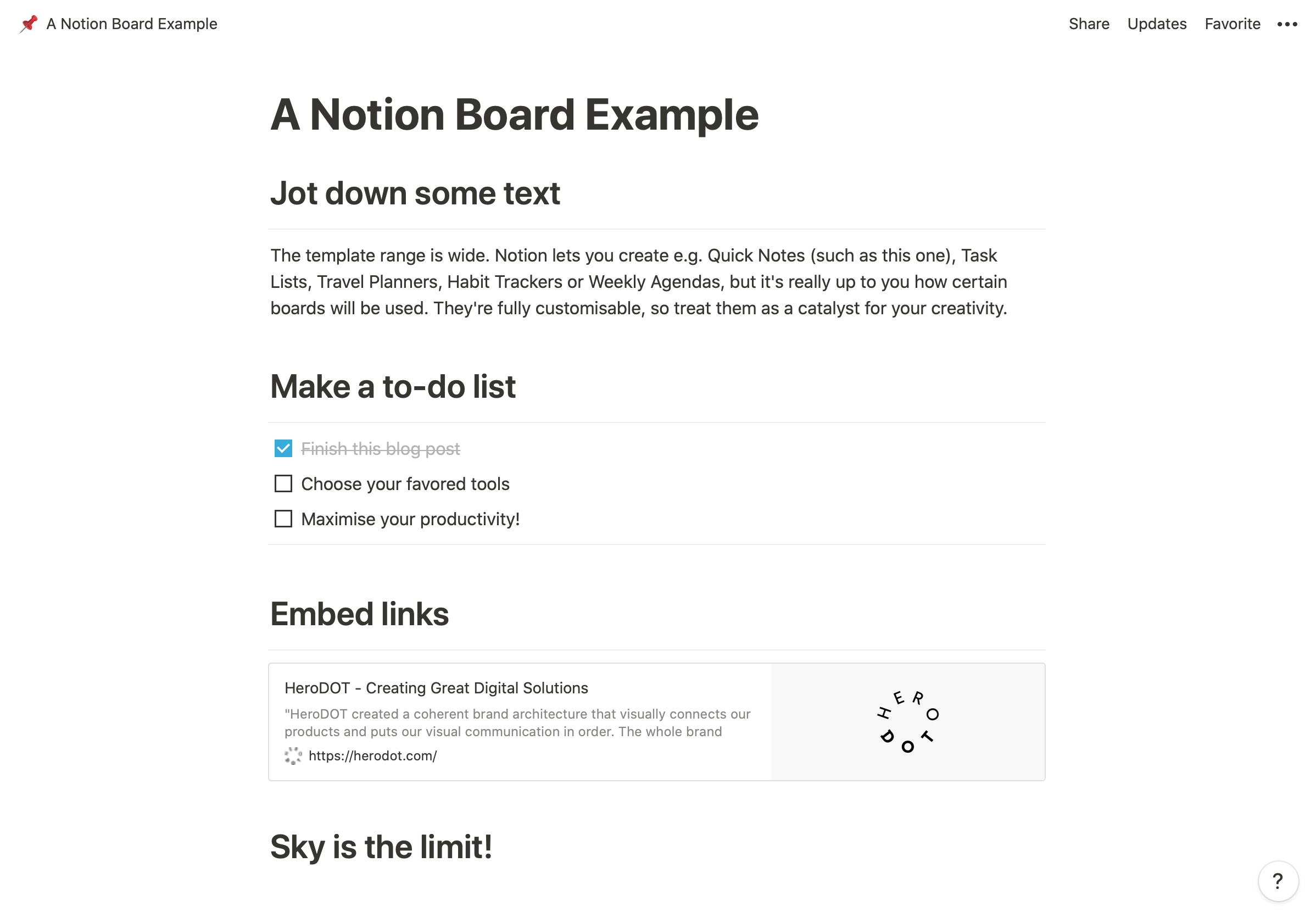 Notion is a work tool that facilitates project management. Backlogs, project management boards, to-do lists - you name it.