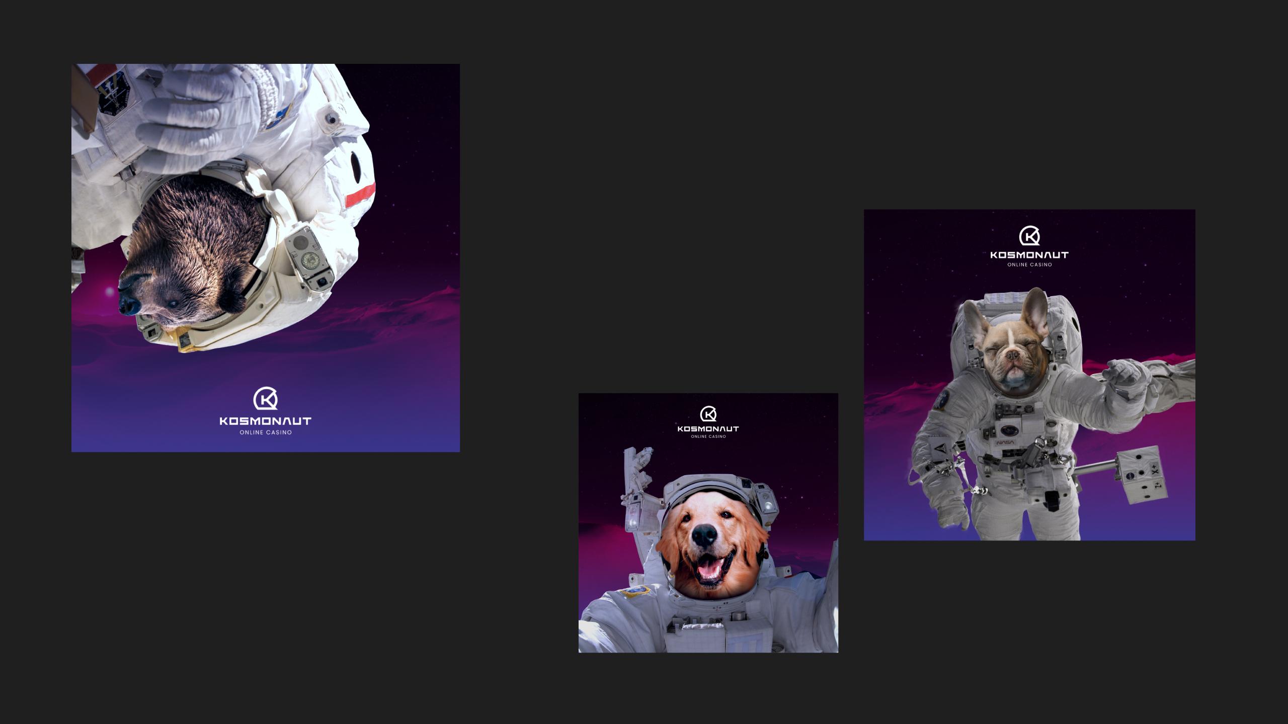 Kosmonaut Online Casino Animals