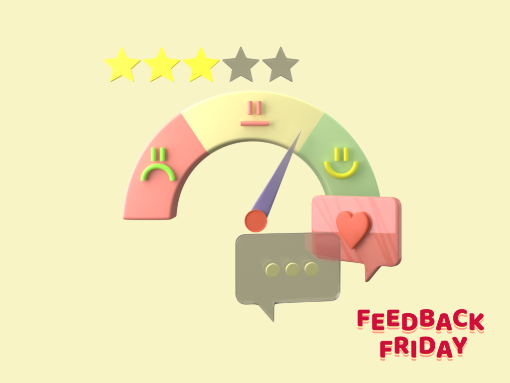Feedback Friday  design by Ania Skrobała