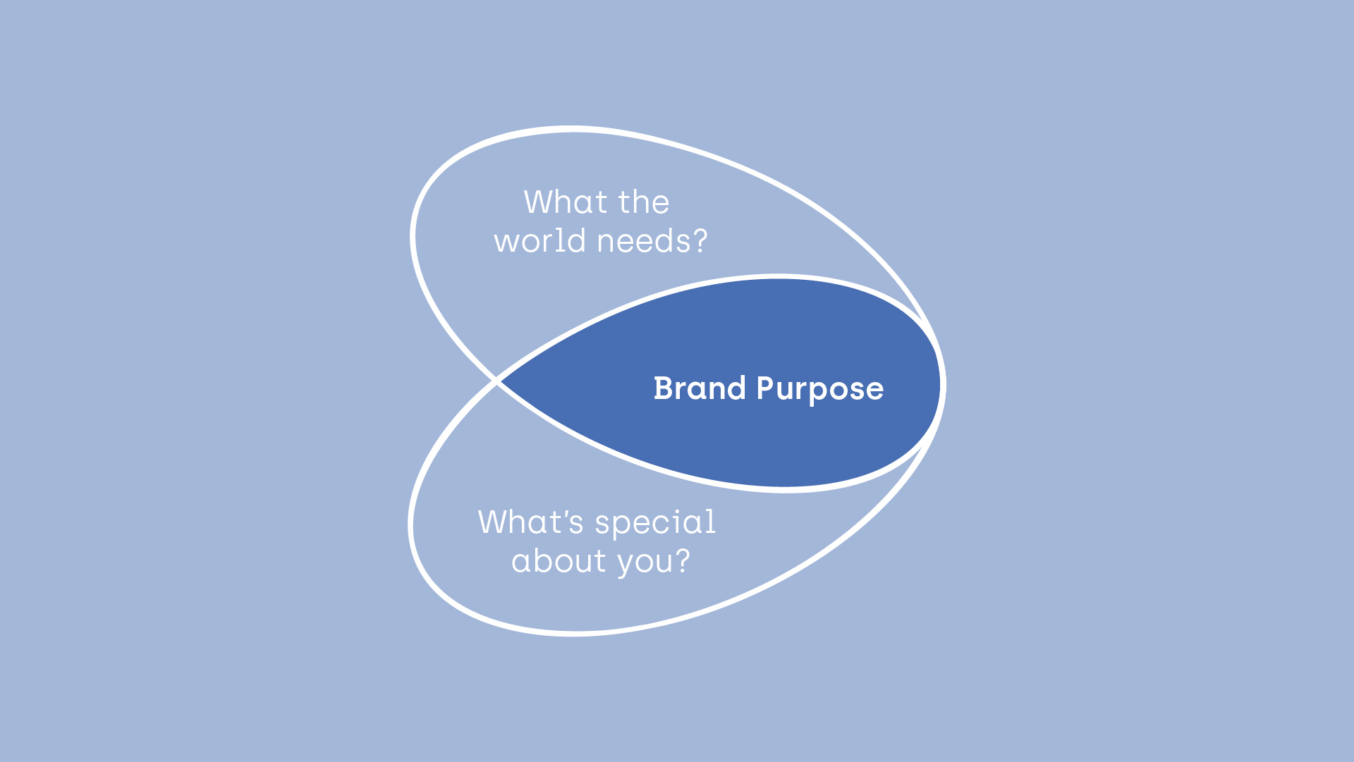 Brand Butterfly - what the world needs, brand purpose, what's special about you. Author: Klara Siewierska