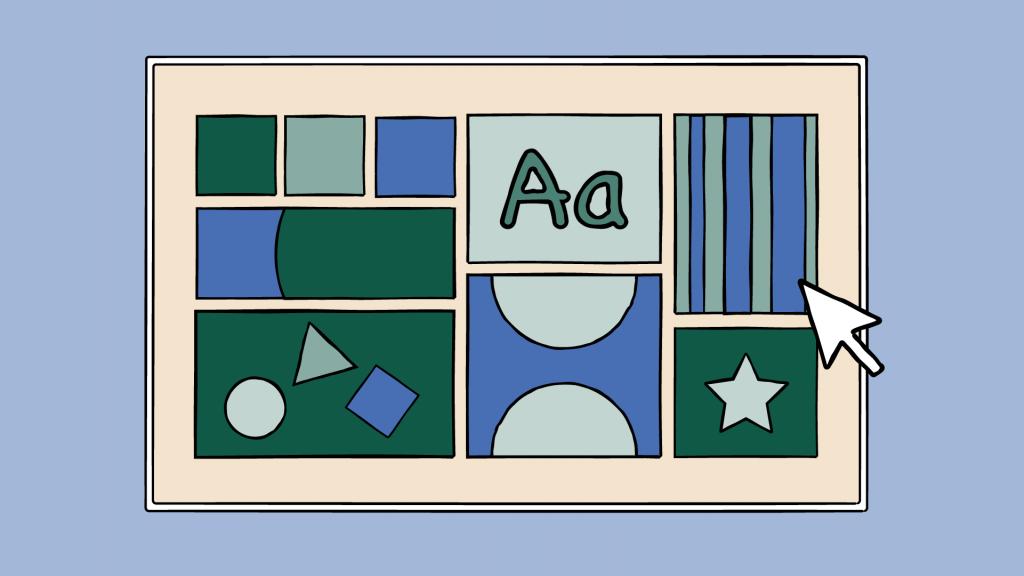 a mood board